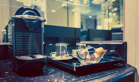 Millennium Hotel London Knightsbridge: Coffee by Nespresso