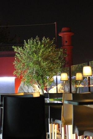 Monte Belvedere by Shiadu : Abends auf der Dachterrasse