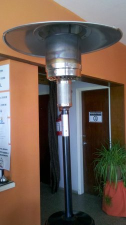 El Nido Beach Hotel: Excelente equipo de calefacción