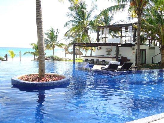 piscina picture of le reve hotel spa playa del carmen tripadvisor. Black Bedroom Furniture Sets. Home Design Ideas