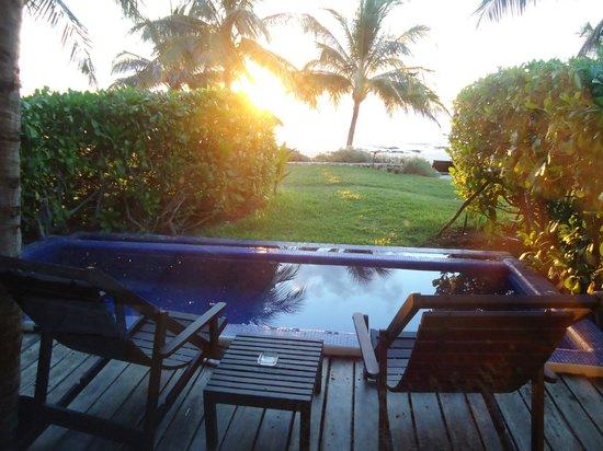 Le Reve Hotel & Spa: Varanda do Bangalô
