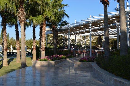 Barut Lara: Территория отеля