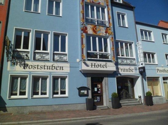 Posthotel Traube: Fachada do hotel