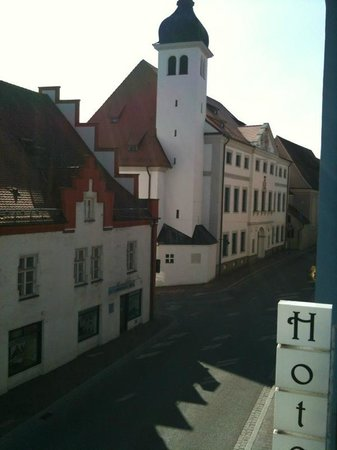 Posthotel Traube: Vista da janela