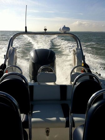 Onboard RIB Charters: Powerboating with Onboard Charters, Portsmouth