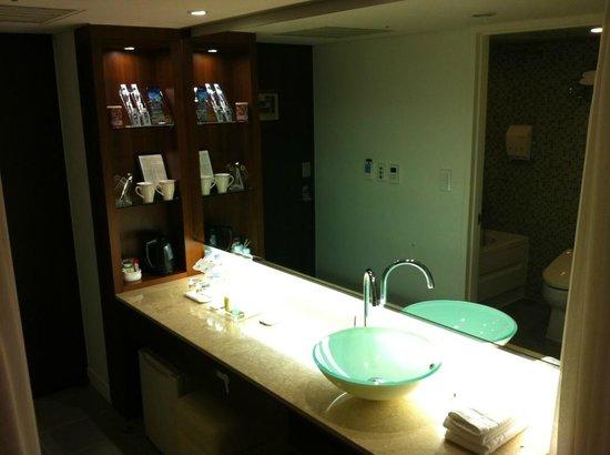 BEST WESTERN Premier Kukdo : Angle salle de bains