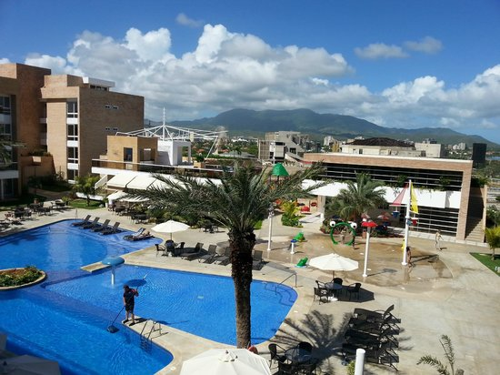 Margarita Real Boutique Hotel: The view of the mountains