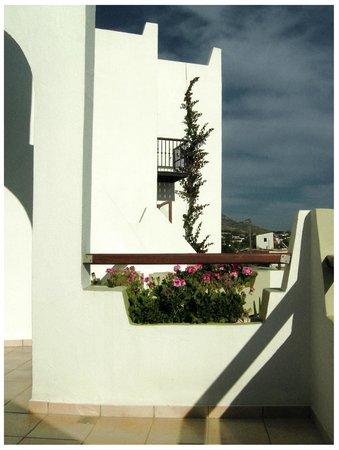 Hotel Alianthos Garden : Alianthos balcony