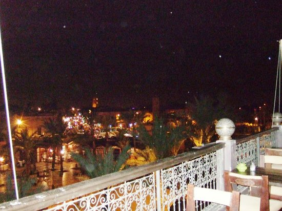 Kosy Bar : Roof terrace view