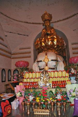 Wannian Temple : TEMPLO WANNIAN, MONTAÑA EMEI