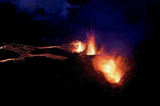 Volcano House : Eyjafjallajökull eruption
