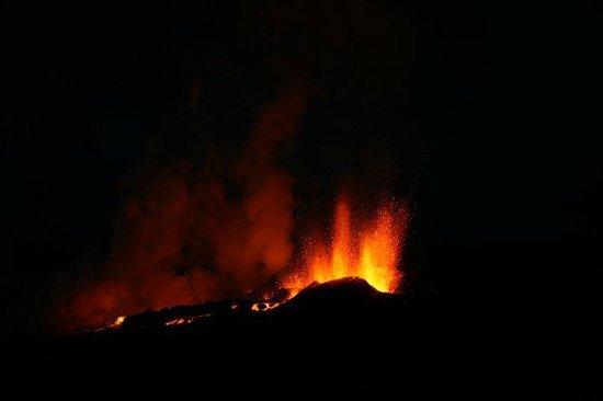 Volcano House : Fimmvörðuháls (oh those Icelandic local names) eruption