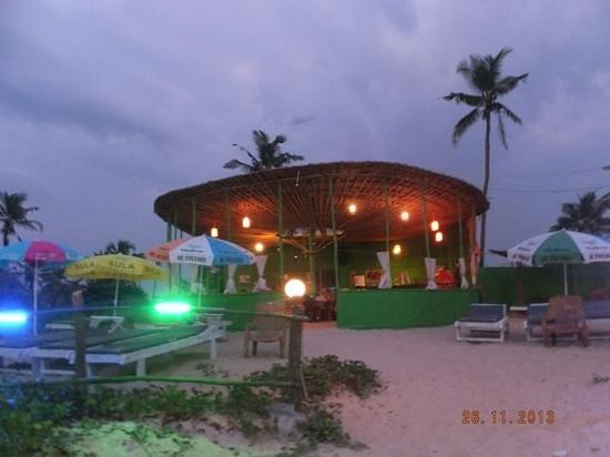 Sandpat Beach Shack: great sun set location