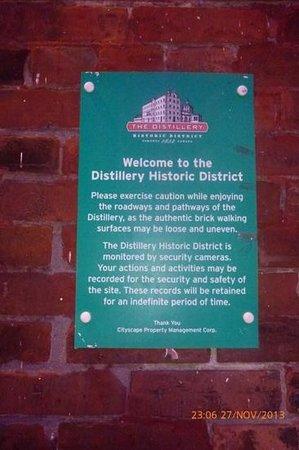 Distillery Historic District: un poco de historia