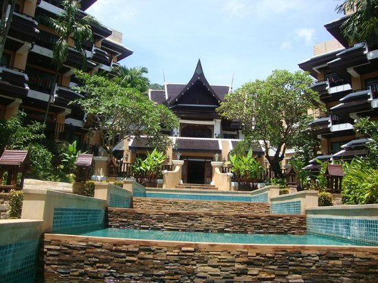Nong Thale, Thailand: Hotel area from the pool