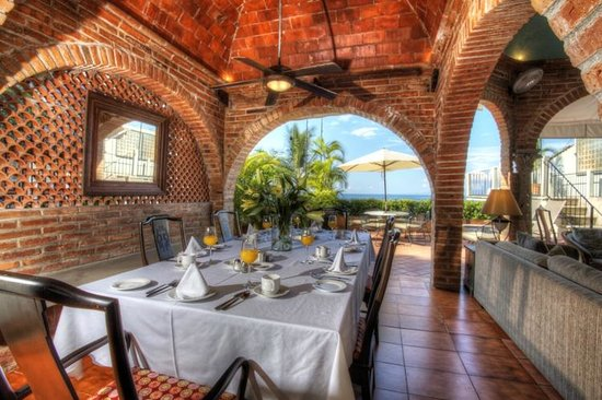 Casa Tres Vidas: Vida Sol Dinning Room with view