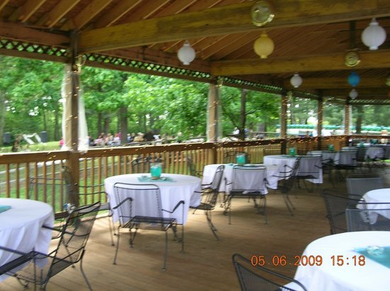 Bent Mountain Lodge Bed and Breakfast: Pavillon for Wedding and Family Reunions