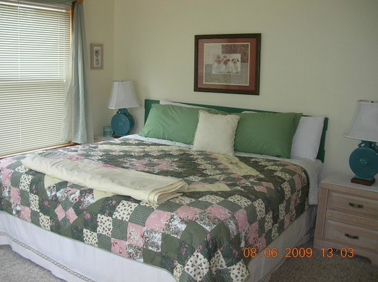 Bent Mountain Lodge Bed and Breakfast: Spring Lynn Suite king bed