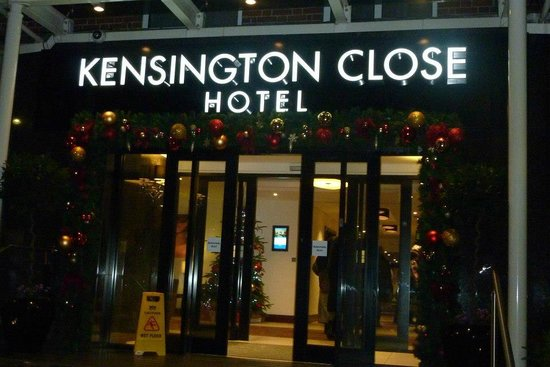 Holiday Inn London - Kensington: Christmes 2012