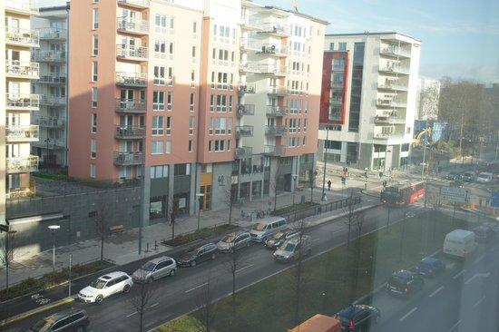 Courtyard Stockholm Kungsholmen: utsikt från rummet på 8onde våning