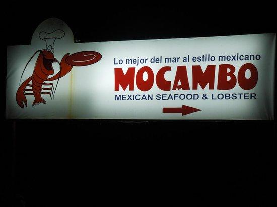 Mocambo's: This way
