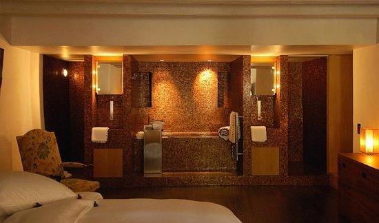 Chateau Le Rosey : Open bathroom