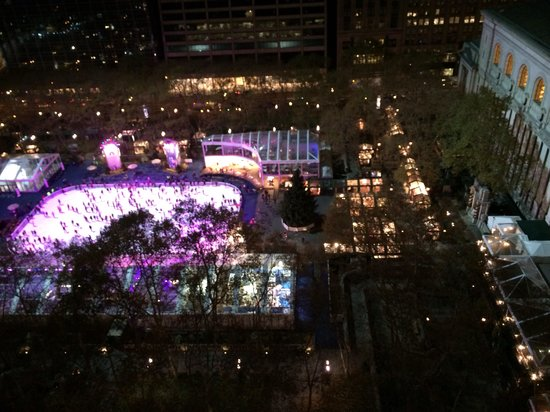 The Bryant Park Hotel : View from terrace-19th floor
