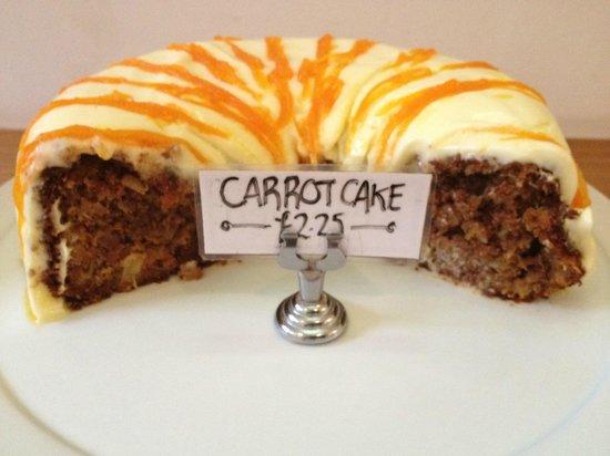 Merienda: Homemade Carrot cake