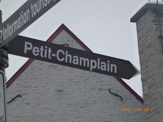 Quartier Petit Champlain : Quartier Petit-Champlain