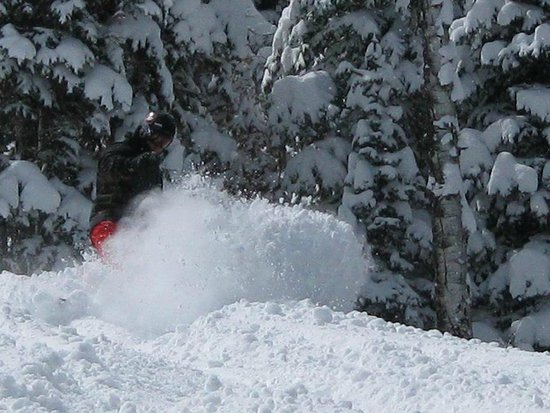 Canyons Village at Park City: DEEP POWDER DAYS!