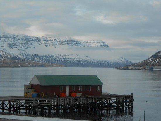 Seydisfjordur Hostel Hafaldan : View from the Hostel