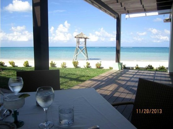 Iberostar Grand Hotel Rose Hall: View from the buffet