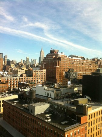 """The Standard, High Line: The """"City View"""" from my room"""