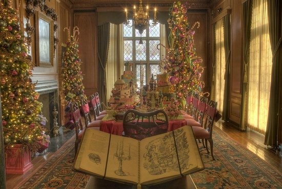 Superb Paine Art Center And Gardens: Dining Room Decorated As The Land Of Sweets  For The
