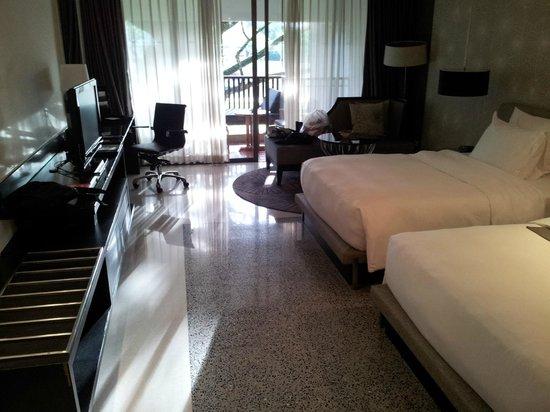 Le Meridien Chiang Rai Resort: la habitación desde la puesta