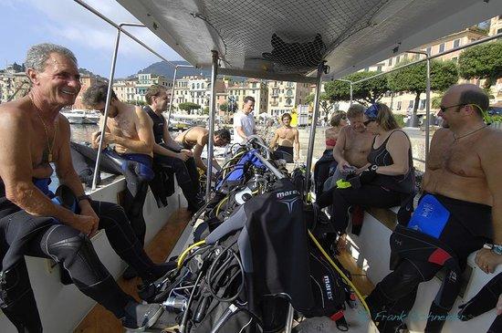 Diving Group Portofino: Santa Margherita Port, Photo Frank Schneider