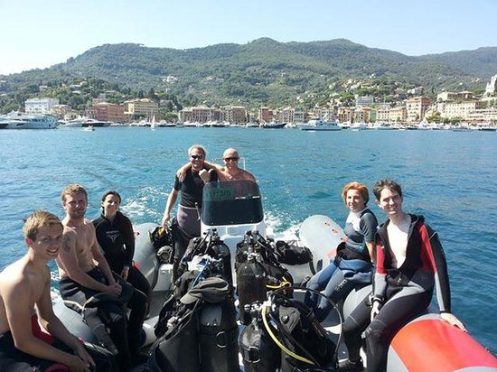 Diving Group Portofino: Portofino Marine Park