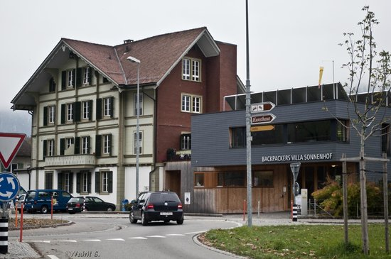 Backpackers Villa Sonnenhof : Villa among the Hostels