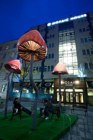 Mosaic House: the Mushrooms
