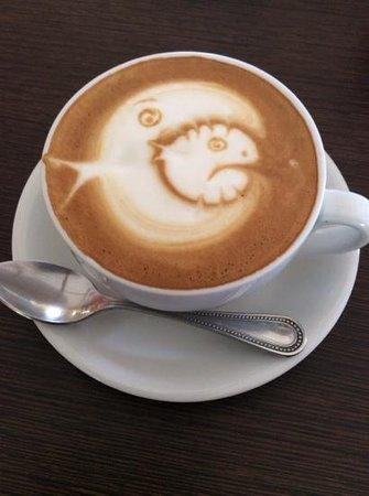 Choco Cafe: Awesome place if you enjoy coffee art!