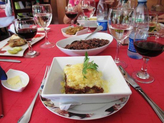 Restaurante DiVino: My lasagne--muy bien
