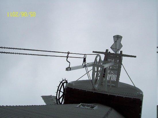 Union Mill : Windmill Cap from 'balcony'