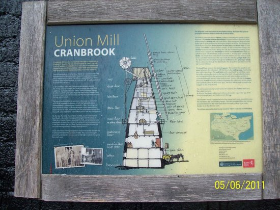 Union Mill : Information Board