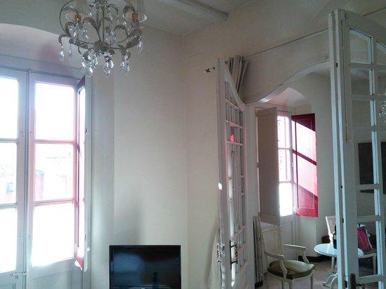 Aiguaclara Hotel: Vista desde la habitación número 9.