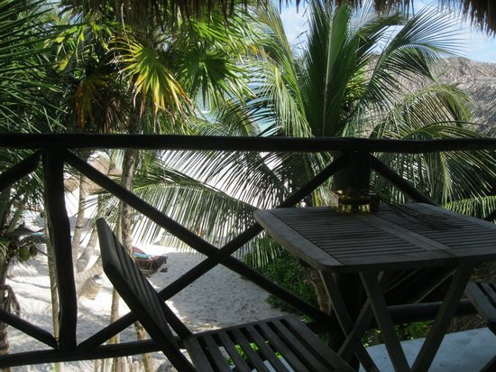 Luv Tulum: view from our patio