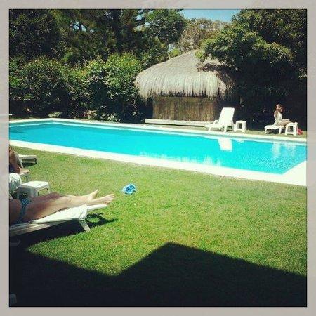 Petit Chateau Hotel Boutique: Área da piscina