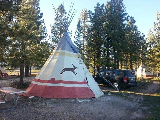 Ruby S Inn Tipi 10 Picture Of Ruby S Inn Campground