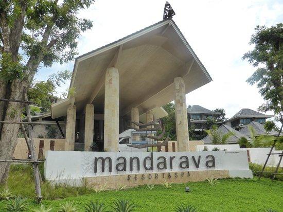 Mandarava Resort and Spa: Hotel frontage