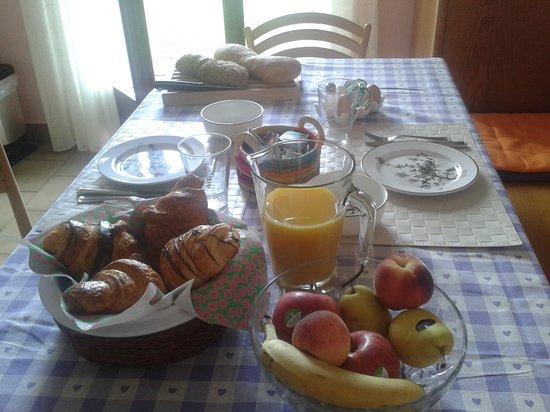 LuganoBella Bed&Breakfast : Breakfast