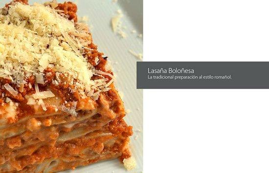 Cenacolo Kukulcan: lasagna
